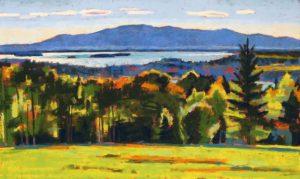painting of camden hills