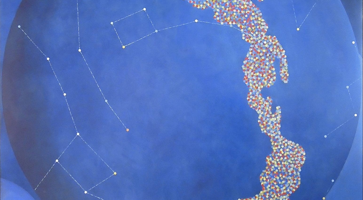Constellation artwork by Lori Tremblay