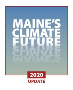 Cover of the Maine's Climate Future 2020 report