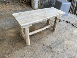 A finished bench.